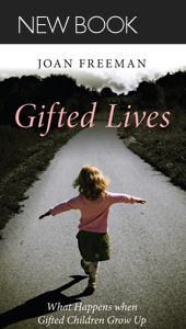 Gifted lives, new book
